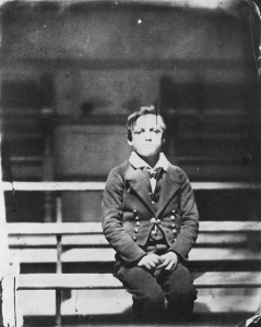 A student from the Royal Hospital School. Reproduction ID H0827
